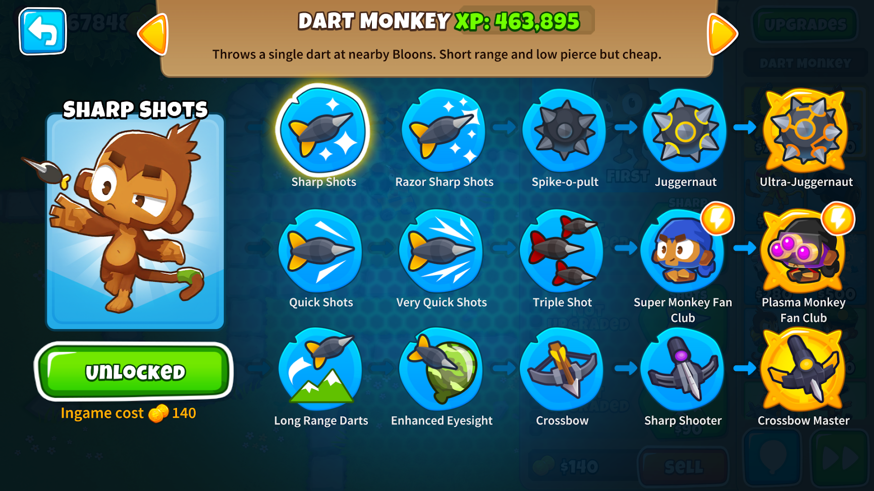 Dart Monkey Guide - Which Dart Monkey Is Best? - BTD6